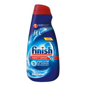 ژل ماشین ظرفشویی فینیش (finish) همه کاره (1lit) |