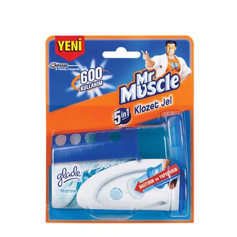 خوشبوکننده مسترماسل (Mr Muscle) مخصوص سرویس بهداشتی مدل ژل چسبی |
