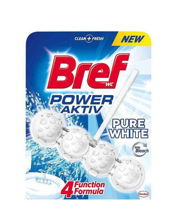 خوشبوکننده توالت فرنگی برف Bref مدل توپی سفید کننده تکی |
