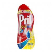 ژل ماشین ظرفشویی پریل (Pril) دو فاز (650ml) رایحه لیمو