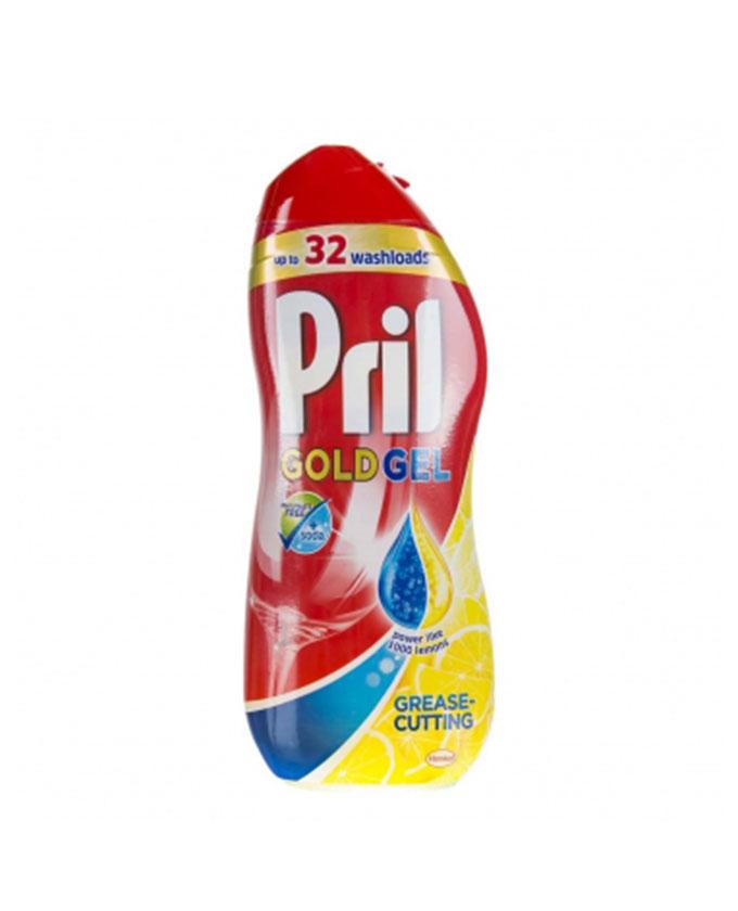 ژل ماشین ظرفشویی پریل (Pril) دو فاز (1000ml) رایحه لیمو