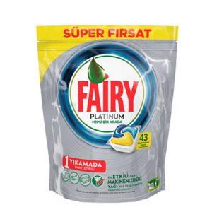 قرص ماشین ظرفشویی فیری (Fairy) پلاتینیوم 43 عددی