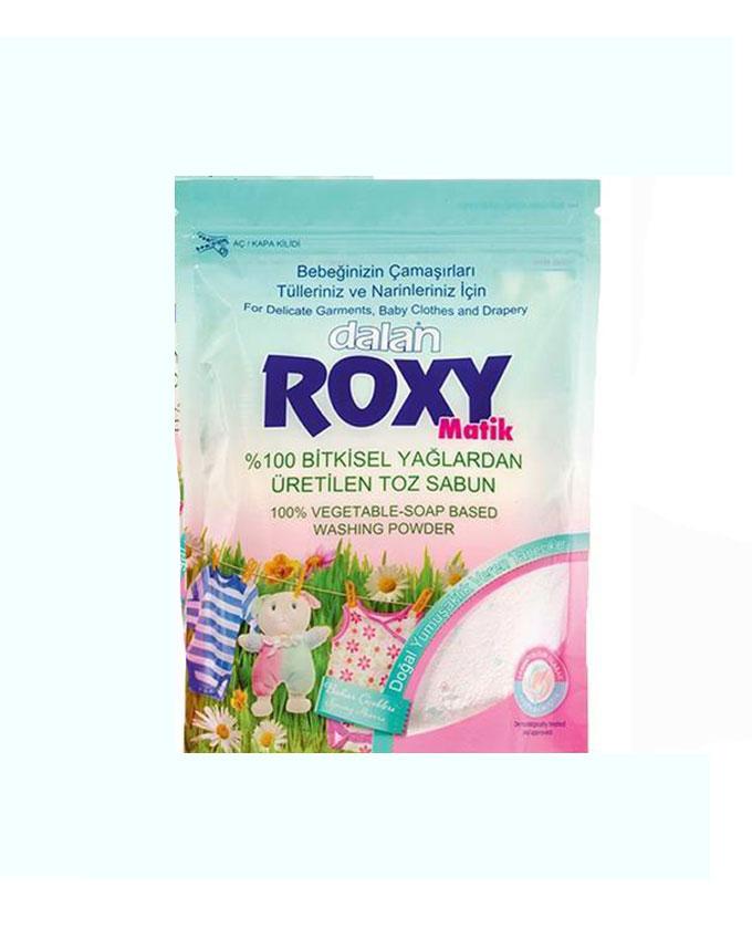 پودر صابون رکسی ROXY مخصوص لباس نوزاد با عطر گل بهار (800gr)