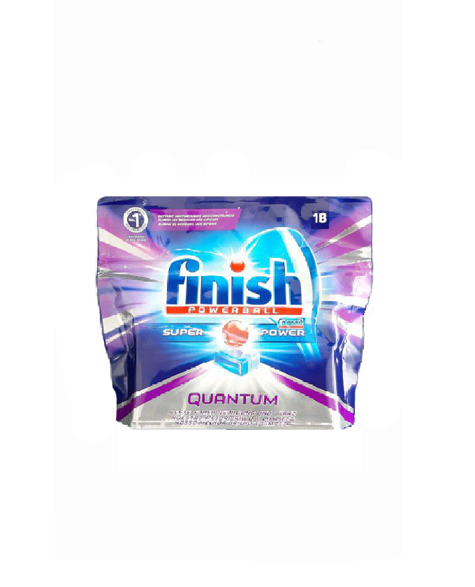 قرص ماشین ظرفشویی فینیش (finish) کوانتوم 18 عددی