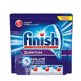 قرص ماشین ظرفشویی فینیش (finish) کوانتوم 27 عددی