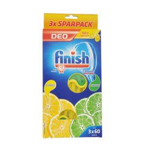 بوگیر ماشین ظرفشویی فینیش (finish) محصول آلمان لیمویی 3عددی