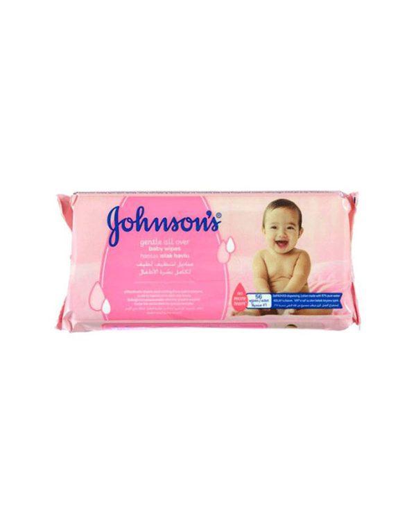 دستمال مرطوب کودک جانسون 56 برگی Johnson