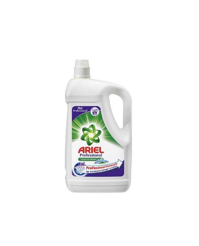 مایع ماشین لباسشویی آریل – Ariel با رایحه نسیم کوهستان 4.5 لیتری