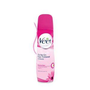 اسپری مو بر Veet مناسب برای پوست های معمولی (150ml)