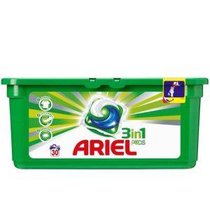 قرص ژله ای ماشین لباسشویی Ariel سه کاره 30عددی