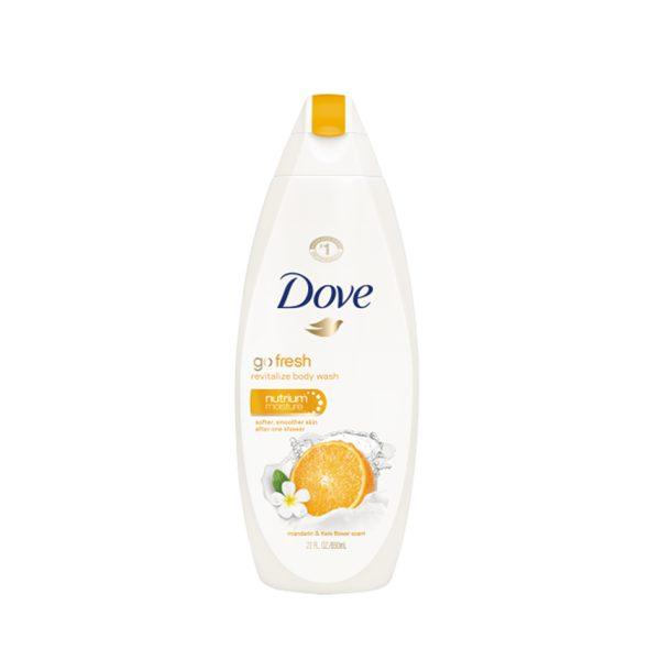 شامپو بدن کرمی Dove با عصاره نارنگی و عطر گل (500ml)
