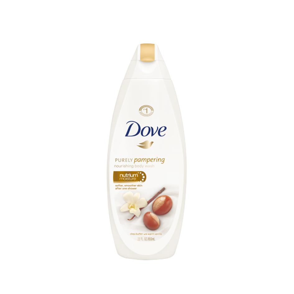 شامپو بدن کرمی داو – Dove با عصاره فندق(500ml)