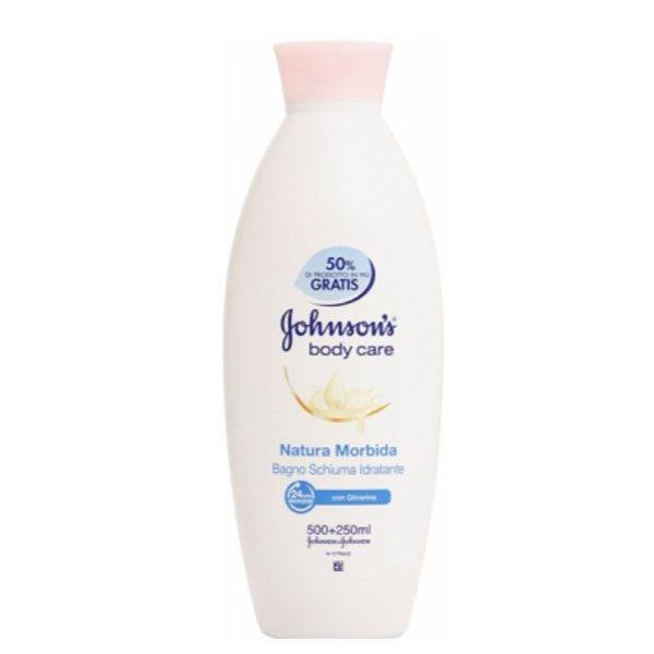 شامپو بدن Johnson با رایحه شیر (750ml)