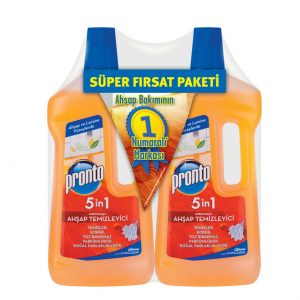 پک دو عددی مایع پاک کننده چوب pronto حجم (75ml*2)