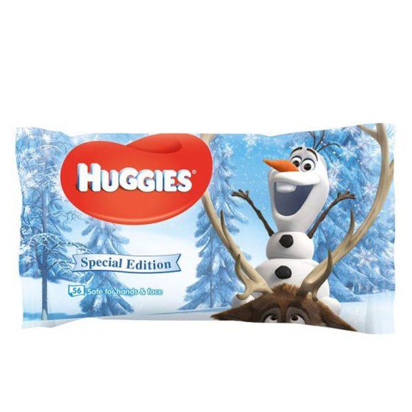 دستمال مرطوب HUGGIES ضد حساسیت 56 برگ