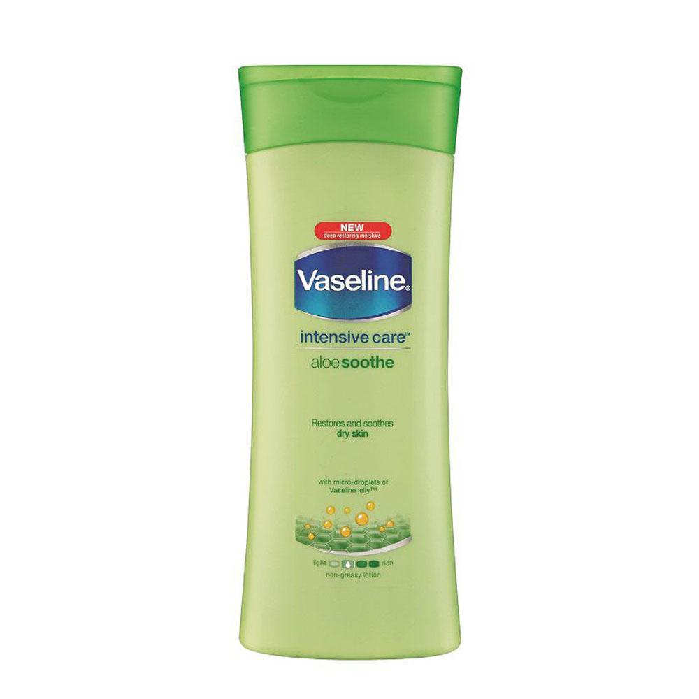 لوسیون بدن وازلین Vaseline تسکین دهنده (400ml)