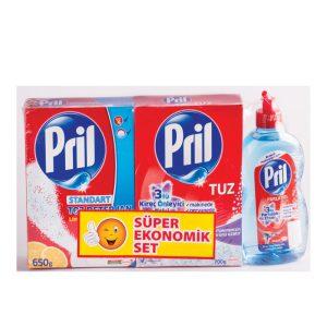 ست ماشین ظرف شویی پریل (Pril)