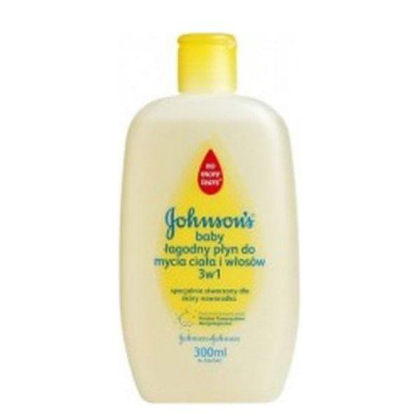 شامپو مو و بدن کودک جانسون Johnson حجم(300ml)
