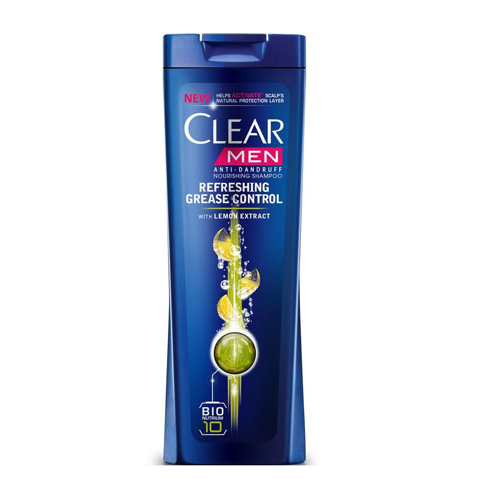 شامپو کلیر CLEAR ضد شوره آقایان ، مخصوص مو و پوست سر چرب (400ML)