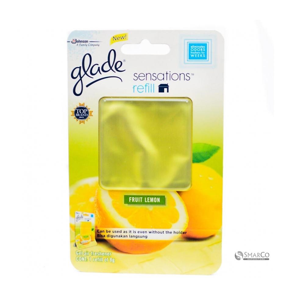 خوشبو کننده هوا گلید glade مدل کارتی رایحه لیمو