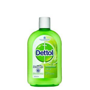 مایع ضدعفونی کننده Dettol حجم (500ml)
