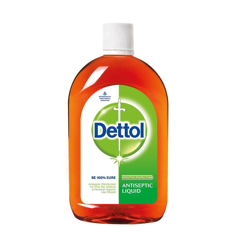 محلول ضدعفونی کننده دتول – Dettol مدل کلاسیک (550ml)
