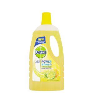 پاک کننده چندمنظوره سطوح Dettol با رایحه لیمو (1l)