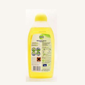 پاک کننده چندمنظوره سطوح Dettol با رایحه لیمو(450ml)