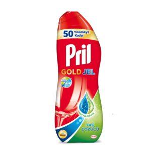 ژل ماشین ظرفشویی Pril مدل GOLD حجم (1Lit)