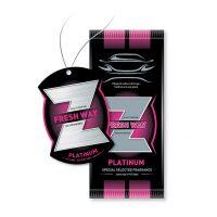 خوشبوکننده Fresh-way مدل کارتی Z رایحه PLATINUM