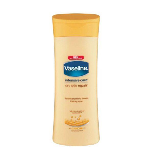 لوسیون Vaseline ترمیم کننده،مناسب پوست خشک (400ml)