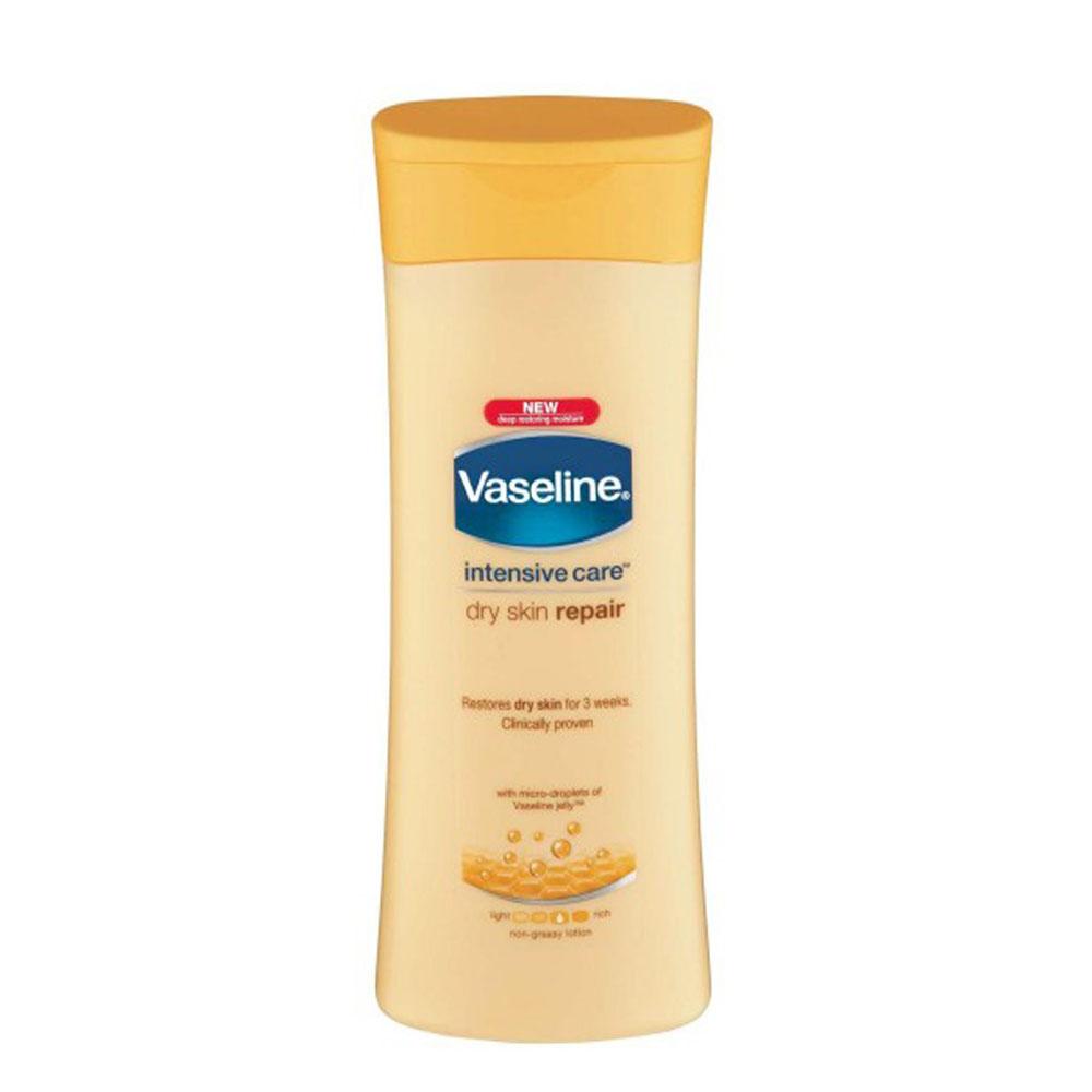 لوسیون بدن  وازلینVaseline ترمیم کننده،مناسب پوست خشک (400ml)
