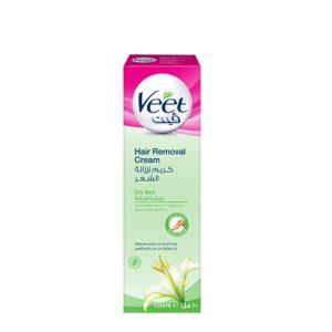 کرم موبر Veet مناسب برای پوست های خشک حجم (100ml)