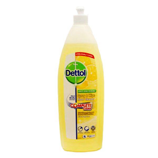 مایع پاک کننده زمین دتول Dettol با رایحه لیمو 1lit