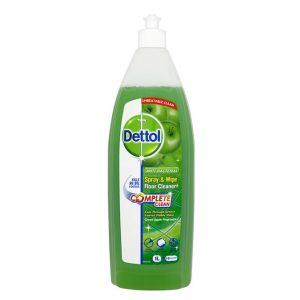 مایع پاک کننده زمین دتول Dettol با رایحه سیب 1lit
