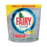 قرص ماشین ظرفشویی فیری (Fairy) پلاتینیوم 81 عددی