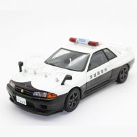ماکت NISSAN SKYLINE GTR R32 POLICE 1OF6000
