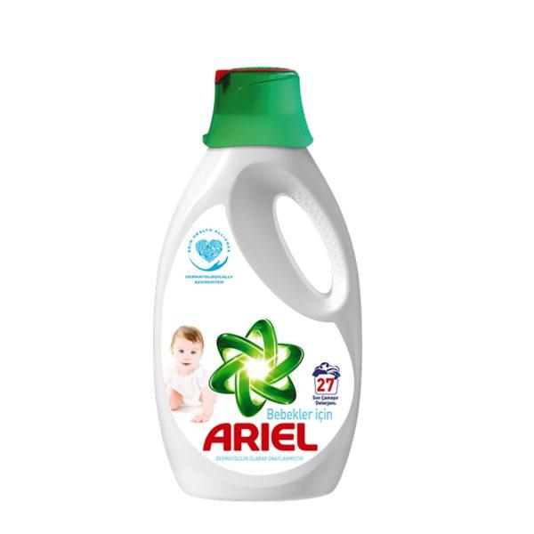 مایع ماشین لباسشویی Ariel مخصوص لباس کودک (1.7550L)