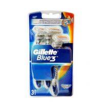 خود تراش ژیلت (Gillette) مدل سه لبه Blue 3