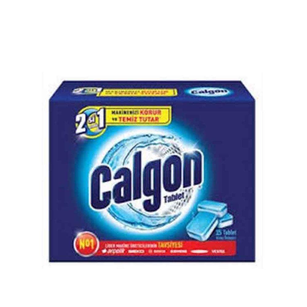 جرم گیر ماشین لباسشویی کالگن (Calgon) قرص 15 عددی