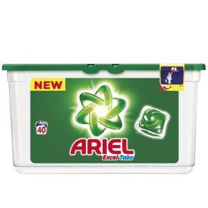 قرص ژله ای ماشین لباسشویی 40عددی Ariel