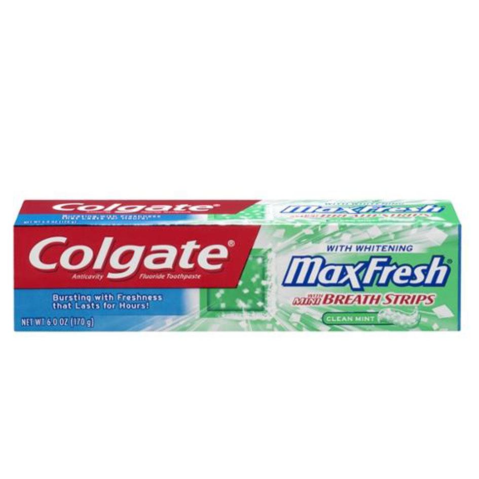 خمیر دندان کلگیت Colgate Max Fresh Green حجم (100ml)