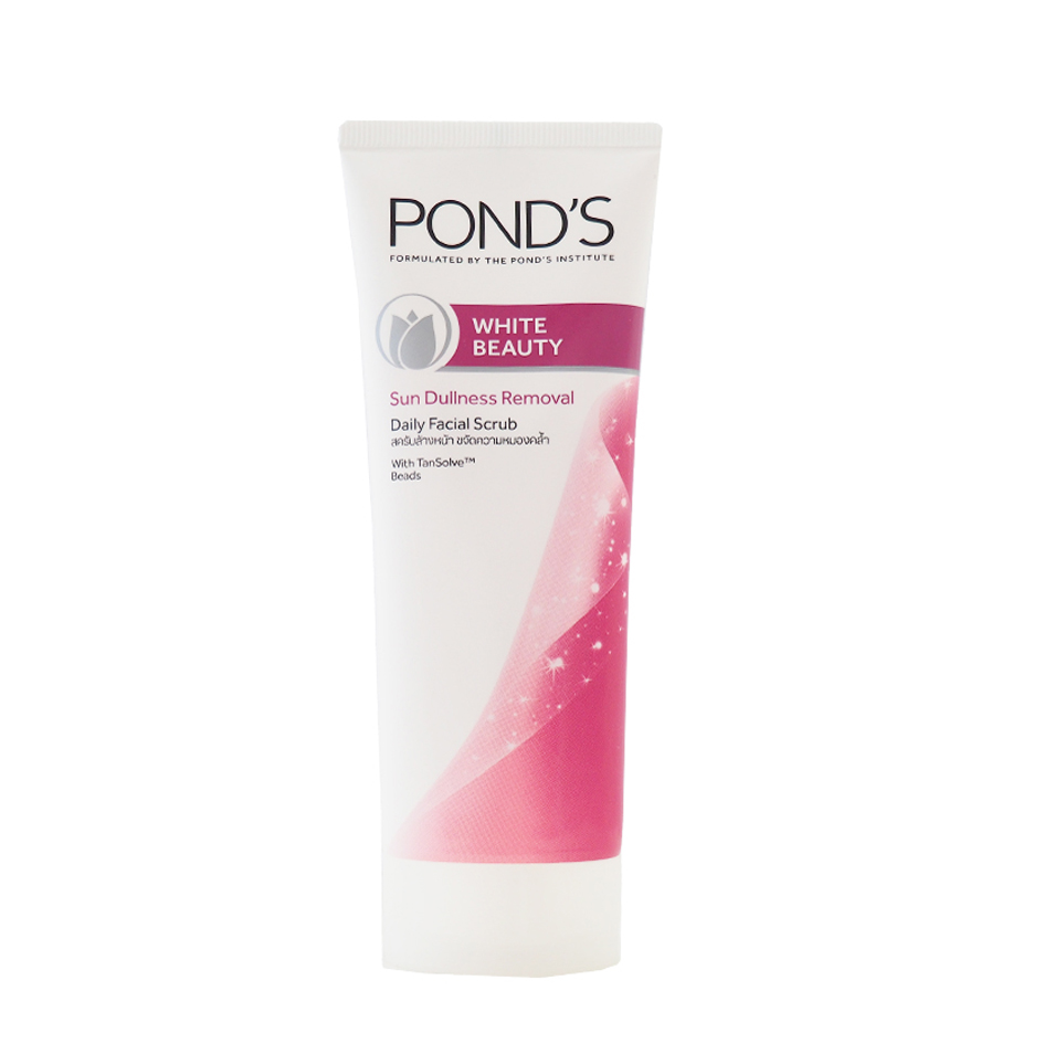کرم لایه بردار صورت پوندز POND'S مدل WHITE BEAUTY حجم (100gr)