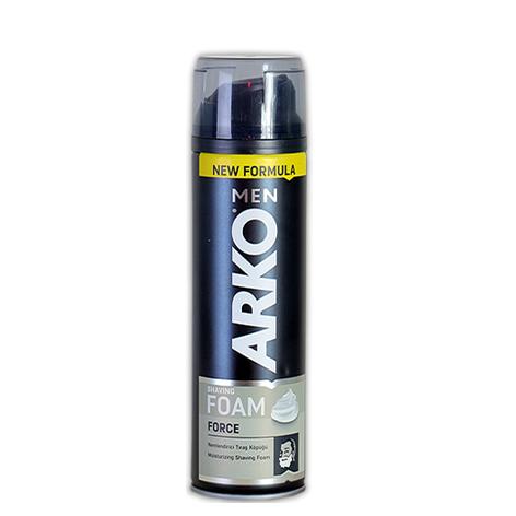 فوم اصلاح  ارکو ARKO مدل FORCE در حجم 200 میلی لیتر