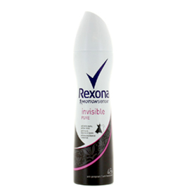 اسپری Rexona مدل invisible pure