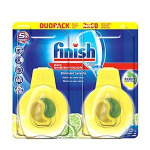 بوگیر ماشین ظرفشویی فینیش (finish) لیمویی دوعددی