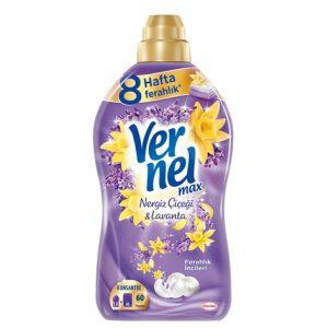 نرم کننده و خوشبو کننده لباس Vernel با رایحه شکوفه بهار و اسطخودوس (۱۴۴۰ml)
