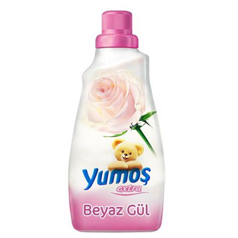 نرم کننده و خوشبو کننده لباس یوموش Yumos با رایحه گل رز سفید (۱۴۴۰ml)