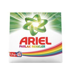 پودر ماشین لباسشویی آریل (Ariel) مناسب لباس های رنگی (1.5kg)