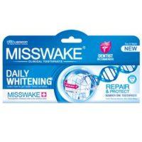 خمير دندان میسویک مدل سفید کننده روزانه MISSWAKE WHITENING حجم (100ml)